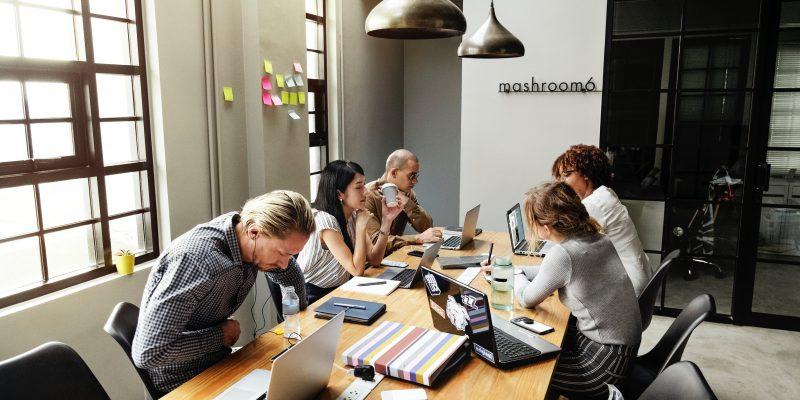 People coworking