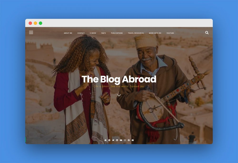 The Blog Abroad