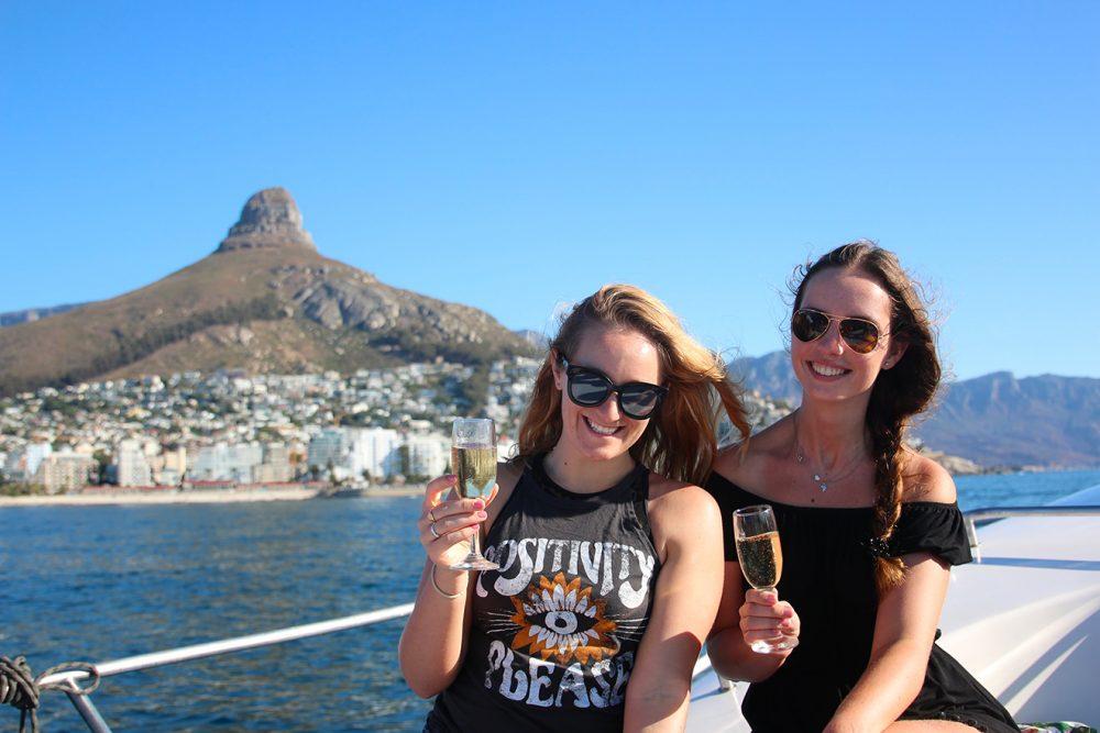 Sunset Cruise - Cheers!