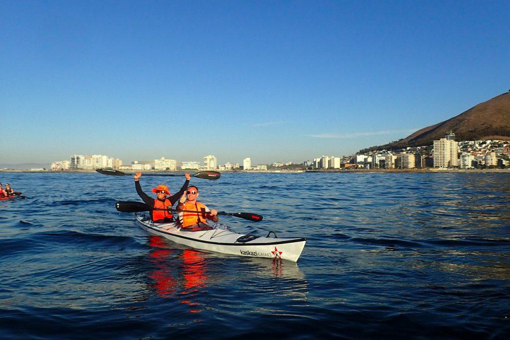 Sunset kayak tour.